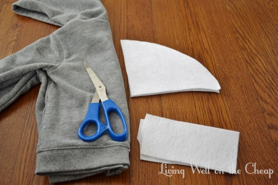 024 (570x380) & Easy and Inexpensive DIY Shark Costume | Living Well on the Cheap